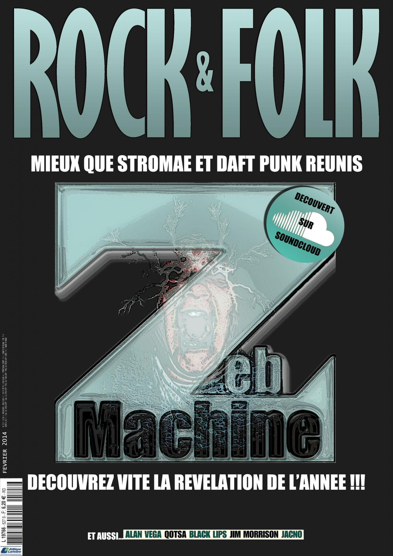 Zebmachine rock folk